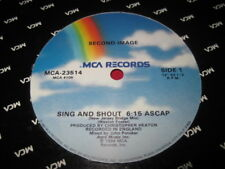 "SECOND IMAGE 12"" - SING & SHOUT - MCA - RARE SOUL PROMO"