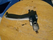 1976 KZ 400 clutch lever with handdle bar mount
