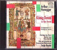HONEGGER Le Roi David King David SERGE BAUDO CD Raffalli Eda-Pirre Senn Nesgiuch