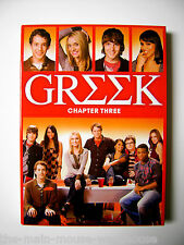 GREEK Chapter Three Chapter 3  College Fraternity Sorority ABC Series on DVD