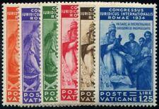 Lot N°6774 Vatican N°66/71 Neuf * Qualité TB