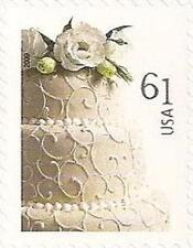 US 4398 Wedding Cake 61c single (1 stamp) MNH 2009