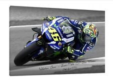 Valentino Rossi LARGE 30x20 Inch Canvas 2016 Jerez GP Yamaha M1 Framed Picture