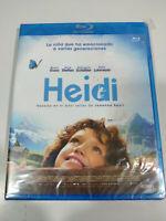 Heidi  Bruno Hanz - Blu-Ray Español Aleman Nuevo