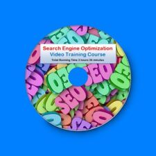 SEO Search Engine Optimisation Expert Master Class Training Course MP4 DVD-Rom
