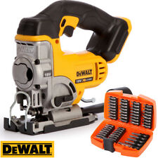 Dewalt DCS331N 18V XR Li-ion Jigsaw Bare Unit With 53pcs Screwdriver Bit Set