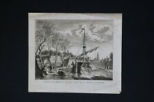 Noach Van Der Meer Dutch 1790 Engraving from History of Netherlands