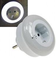LED Nachtlicht mit Zwischenstecker 230 V ,3 weiße LED`s, On/ Off/ Auto 20982