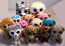 "13 Ty Beanie Boos (2) 9"" & (11) 6"" Plush Stuffed Toy Animal Free Shipping!"