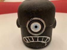 ThreeA Ashley Wood 3A Popbot NABLER Robot Head Rare Black Frown TK Wwr