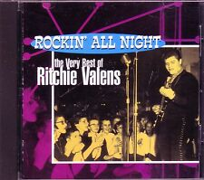 RITCHIE VALENS Rocking All Night Very Best CD Classic 50s LA BAMBA DONNA HI TONE
