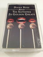 Diana Ross & The Supremes : 20 Golden Greats : Cassette Tape Album From 1977..