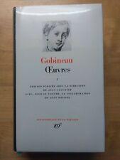 La Pléiade Gobineau Works Tome I 1982
