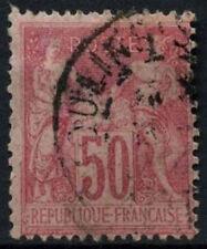 FRANCE 1898-1900, 50 C CARMIN TYPE I used #D50772