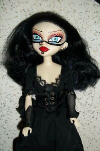 Bleeding Edge Goths RAVEN Doll Rare!!