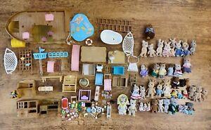 Sylvanian families bundle joblot figure toy playset elephant baby grunt pig dog