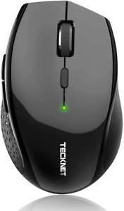 Bluetooth Wireless Mouse TECKNET 5 Adjustable DPI Levels 24-Month Battery Life