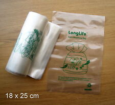 Kordon Breathing Bag Substitute Fish Transport 18cm x 25cm - 10 pcs