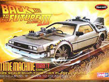 POLAR LIGHTS MODEL KITS BACK TO THE FUTURE PART 3 TIME MACHINE MARK IV FINAL ACT