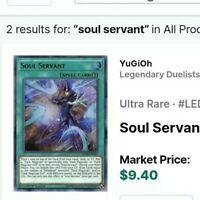 YUGIOH! Soul Servant LED6-EN003 Ultra Rare 1st Edition