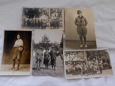 Antique BOY SCOUTS of AMERICA - PHOTO POST CARDS; Great Images from Early 20th C