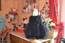 robe neuve repetto froufrou noir   4 ans   PRIX 145 EUROS noel tres chic