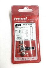 Trend 3/2X1/4TC Two Flute Cutter 6mm