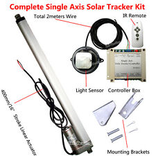 Complete 1KW Single Axis Solar Tracking System-Solar Panel Sunlight Tracker Kits
