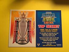 2008/2009 PREMIERSHIP TOP SECRET TROPHY CARD  RARE MATCH ATTAX