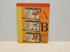 ANTIQUE SAMUEL LOWE ABC BOOK CHILDRENS BOOK