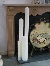 GIANT CANDLE WENZEL CHAPEL / CHURCH / PILLAR / WEDDING  800mm tall  x 80mm diam