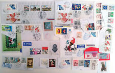 SLOVAKIA 1010 PIECES USED STAMPS ( 593 )