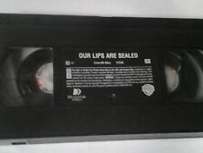 Our Lips Are Sealed (VHS, 2000, Slipsleeve) No Sleeve
