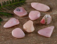 Light Pink Peruvian OPAL - One Small Tumbled Stone E0566