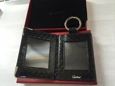 Cartier Python Black Photo Case Key Ring Chain NIB