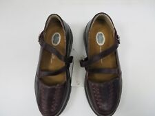 Dr Comfort Women's Shoes  Size 4  Wide ,Burgandy with removable insoles