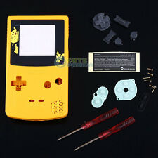 Yellow Cartoon Housing Shell Case w/Screwdrivers f Nintendo Gameboy Color GBC