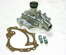 Ford 351C 351M 400M Polished Aluminum High Volume Water Pump Clockwise Rotation