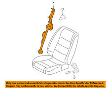FORD OEM 10-14 Mustang Front Seat Belt-Assy Left DR3Z63611B09AA