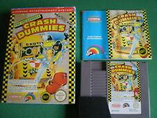 Nintendo NES THE INCREDIBLE CRASH DUMMIES complet Pal B FRA