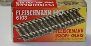 Entkuppler binario ELETTRICO A Fleischmann HO binario modello #113 Gebr.
