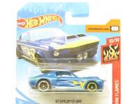 Hotwheels 67 Shelby GT-500 HW Flames 33/250 Short Card 1 64 Scale Sealed New