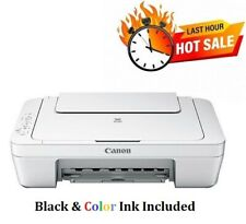 New Canon Pixma Mg2522 Wired All-in-One Color Inkjet Printer Cable&Ink Included