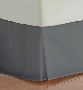 Bed Skirt US & RV Size Select Drop Length Elephant Grey 1000 TC Egyptian Cotton