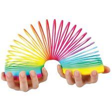 Rainbow Springy Toy - Walks Down Stairs - Sensory Toy - Birthday Gift idea