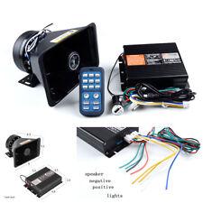 Universal 12V 400W Car Alarm Police Fire Siren Horn Speaker Wireless Amplifier