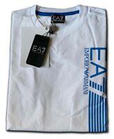 Men's EA7 Emporio Armani Crew Nack Short Sleeve T- Shirts White Size: Large !!!