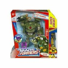 Transformers Animated Bulkhead with Bonus Autobot Bumblebee Rare Collectible ...