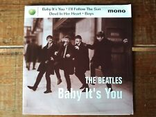 "BEATLES - Baby It's You - 7"" EP - 45 With Picture Sleeve - Apple Records NOS NM"