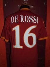 DE ROSSI ROMA 2009/2010 MAGLIA SHIRT CALCIO SOCCER FOOTBALL JERSEY MAILLOT